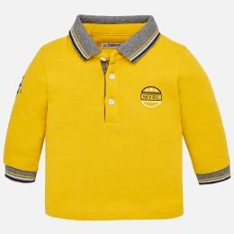 chlapčenská polokošeľa MAYORAL žltá