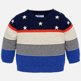 chlapčenská pulover  MAYORAL modrá