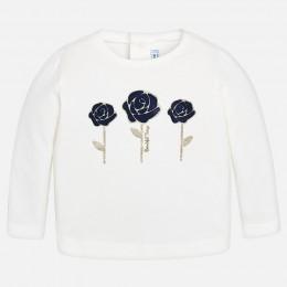dievčenské tričko MAYORAL biela