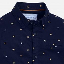 chlapčenská košeľa MAYORAL modrá