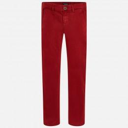 chlapčenské nohavice MAYORAL bordová