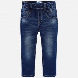 chlapčenské nohavice MAYORAL modrá riflová