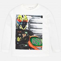 chlapčenské tričko MAYORAL biela