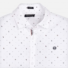 chlapčenská košeľa MAYORAL biela