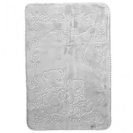 španielska deka sivá
