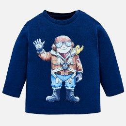chlapčenské tričko MAYORAL modrá
