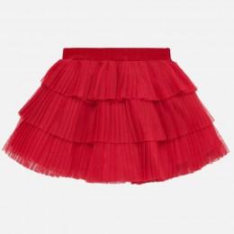 dievčenská sukňa MAYORAL červená