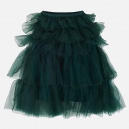 tylová sukňa MAYORAL zelená
