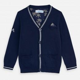 pletený sveter MAYORAL modrý