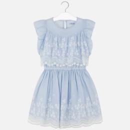 dievčenské šaty MAYORAL modré