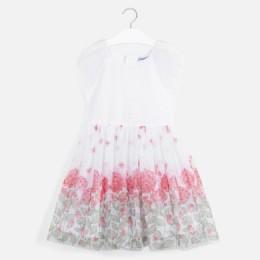 dievčenské šaty MAYORAL biele